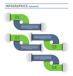 Infographics elemets vector image vector image