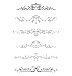 Borders and dividers vector