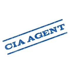 CIA Agent Watermark Stamp vector