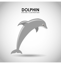 Dolphing jumping vector