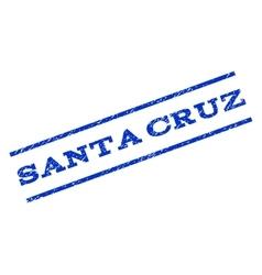 Santa Cruz Watermark Stamp vector