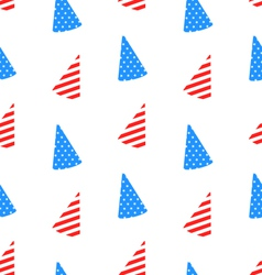 Seamless Texture Hudcap for Independence Day vector image