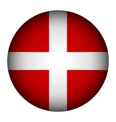 Sovereign Military Order of Malta flag button vector