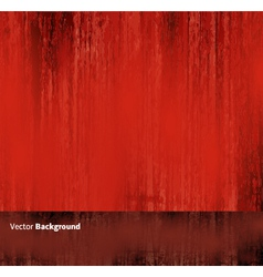 Red Grunge Abstract Background vector image