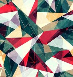 Retro triangle seamless texture vector