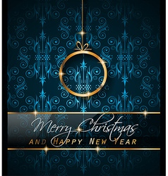 2016 New Year and Happy Christmas background for vector