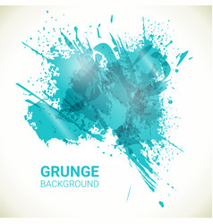 Abstract background turquoise grunge design vector