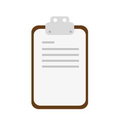 Checlist document sheet vector