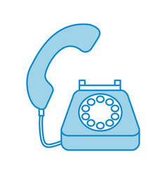 Phone customer service call support vector