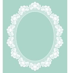 Retro stylish frame vector