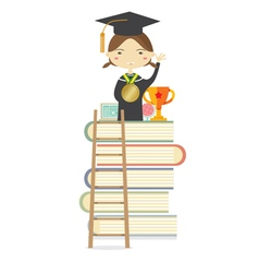 Successful Education Concept vector image
