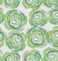 Seamless background from a circle Abstract vector image vector image