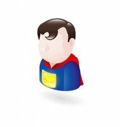 hero illustration vector image vector image