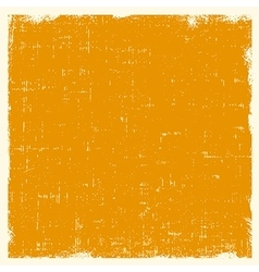 Yellow abstract background in grunge style vector image vector image