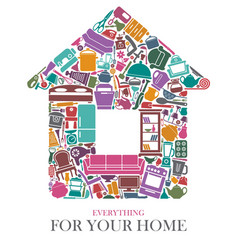 All for the house vector