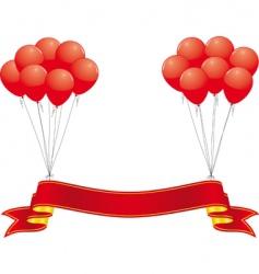 celebration banner vector image