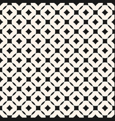 geometric seamless pattern with grid lattice vector image