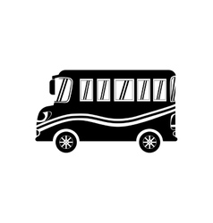 School bus vehicle vector