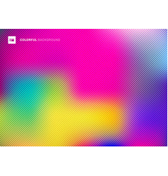 abstract blurred colorful beautiful background vector image