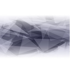 abstract polygonal shape background glowing vector image