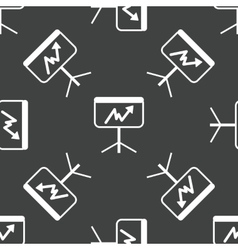 Graphic on screen pattern vector image