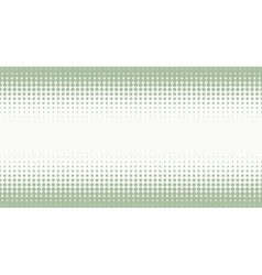 Halftone background with pastel green color vector image