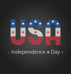 independence day usa grey background for poster vector image