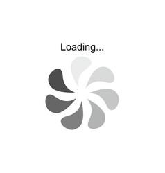 progress loading download progress symbol logo vector image