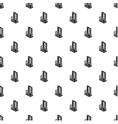 retro balcony pattern seamless vector image