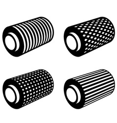 roll of anything foil thread spool vector image
