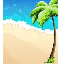 Tropical coast vector