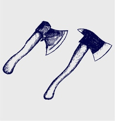 Ax set vector image vector image