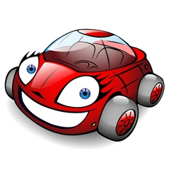 toon car vector image