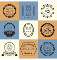 Barber Shop Logos vector