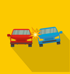boom car icon flat style vector image