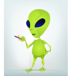 Cartoon Character ALIEN 030 2 CS5 vector image