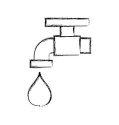 Faucet icon vector