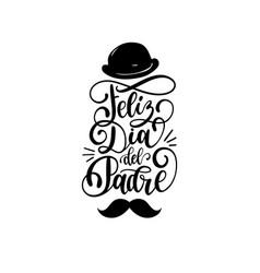 Feliz dia del padre spanish translation happy vector