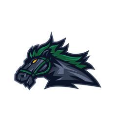 Horse sport logo vector