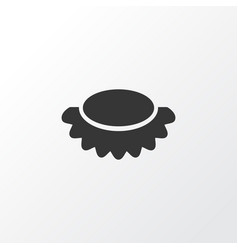 lychees icon symbol premium quality isolated vector image