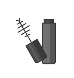 open mascara icon vector image