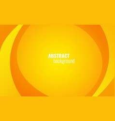 yellow twist lines background modern template vector image