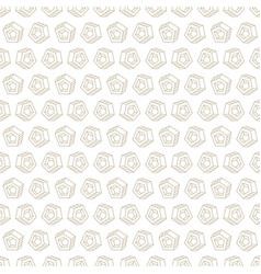 Abstract seamless pattern in two colors vector