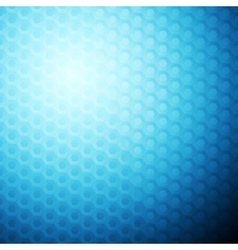 Blue abstract hexagonal texture background vector