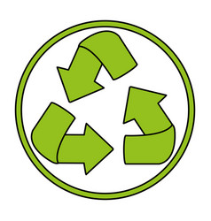 recycle icon image vector image vector image