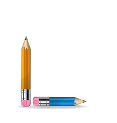 a pencil vector image