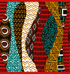 African tribal art traditional africa seamless vector