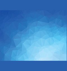 blue ocean geometric background vector image