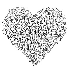 Love i you always and forever vector