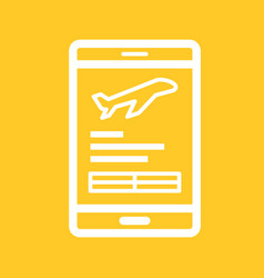 Mobile banking vector